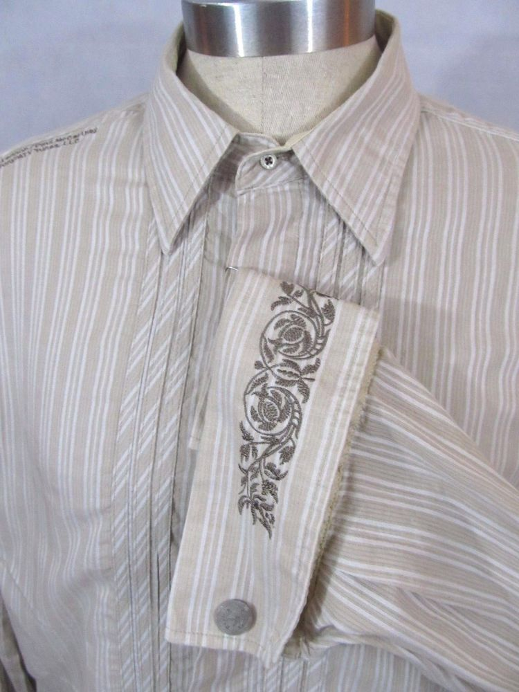 English Laundry English Hero S Hand Sewn Dress Shirt Size Xl