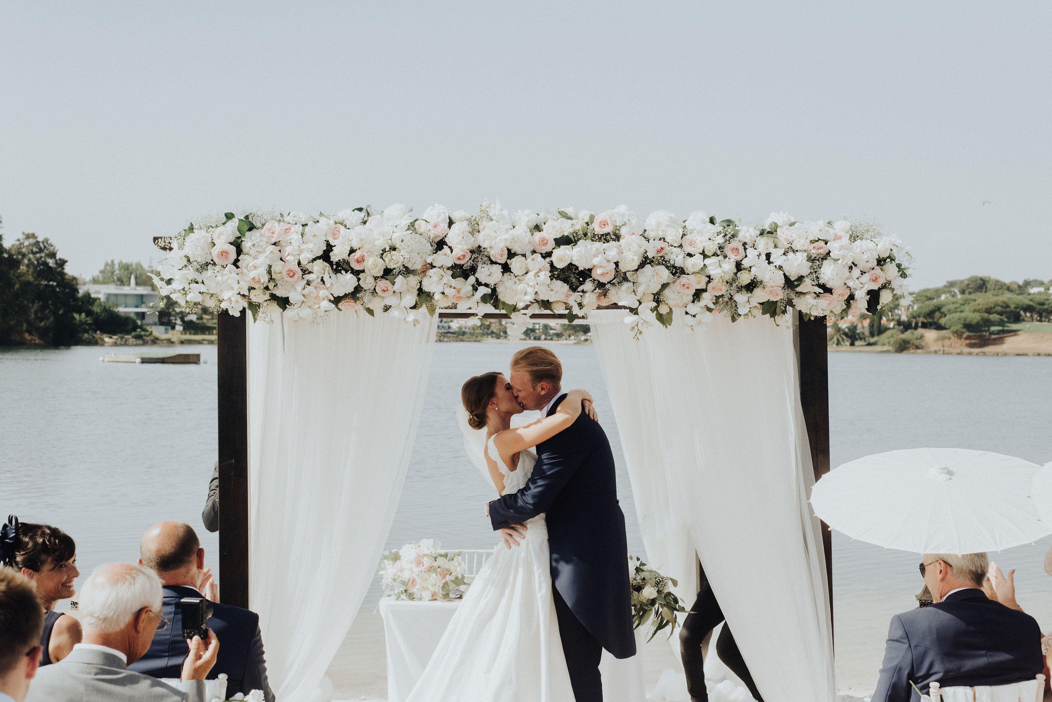Weddings By Rebecca Beach Ceremony Quinta Da Lago Wedding Finishing Touches