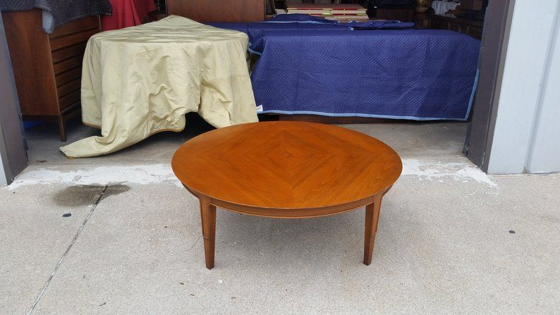 Vintage 1960 S John Stuart Coffee Table Janus Collection Etsy