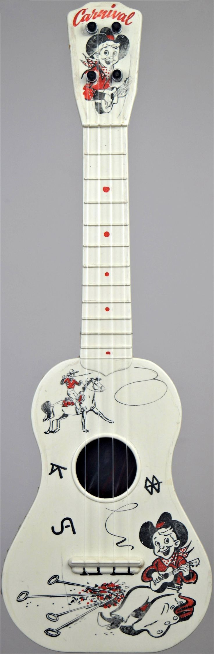 [Uke of the day 2014] My Carnival Cowboy plastic Mini at