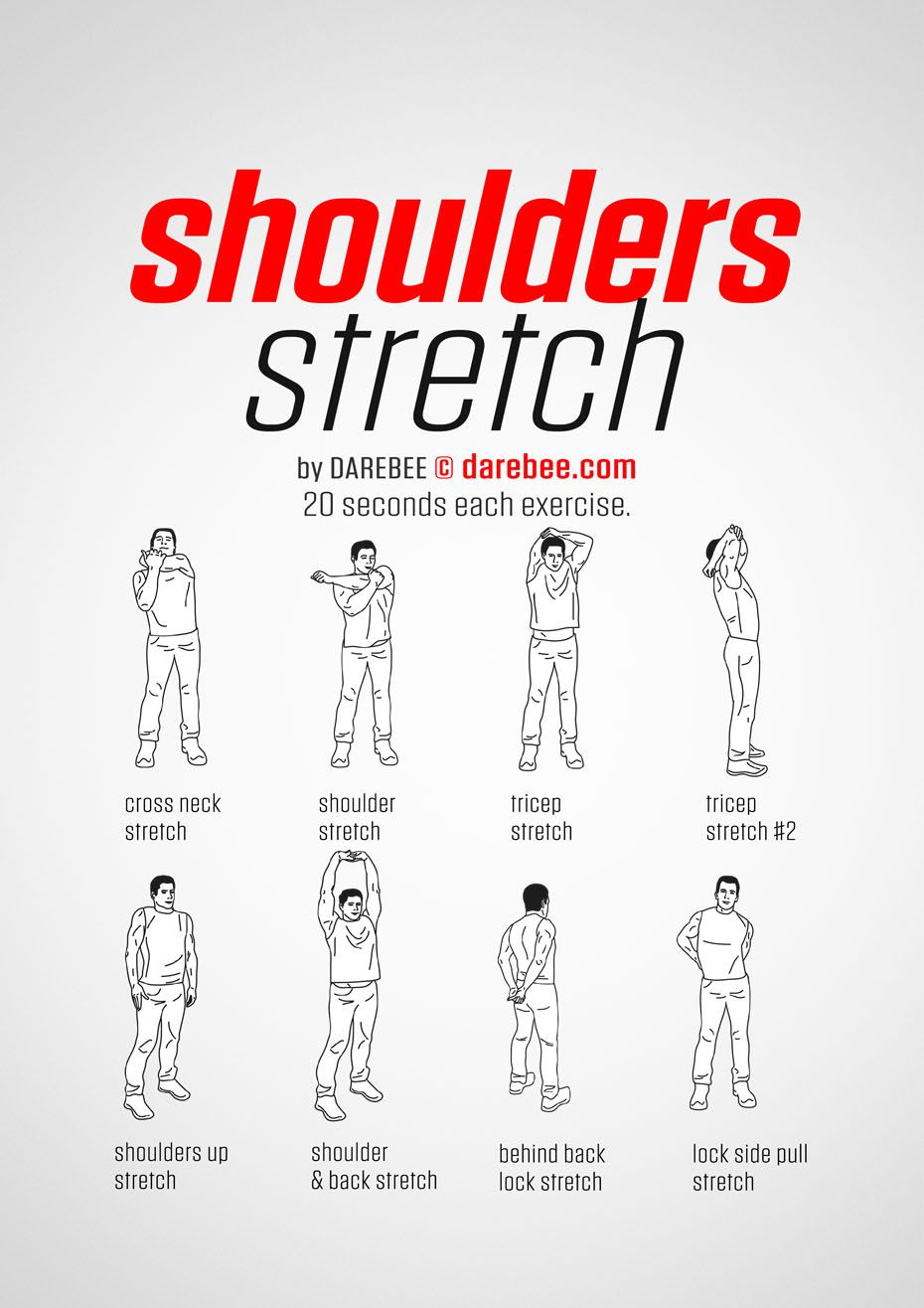 Shoulder Stretch Workout Posted By