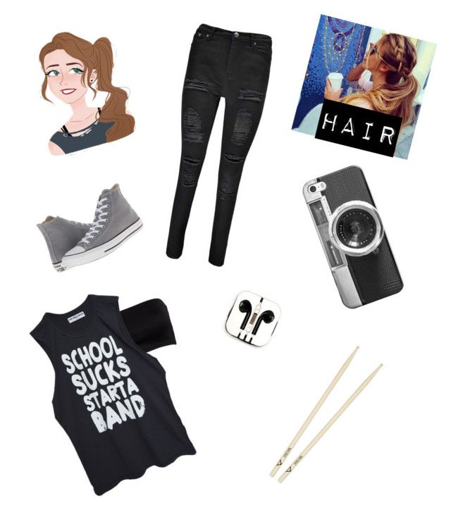 """""""Girl version of Ashton"""" by fan-of-5-seconds-of-summer ❤ liked on Polyvore featuring Boohoo, Converse, Casetify, High Heels Suicide and PhunkeeTree"""