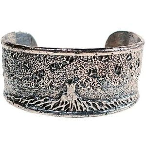 House of Alaia Tree of Life Cuff Bracelet In Bronze YyrMV9