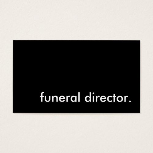 Funeral director business card funeral director pinterest funeral director business card police officerlaw colourmoves
