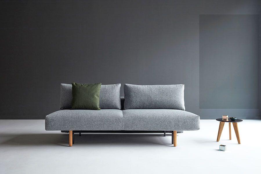 I Tekstil Twist Granite 565 Og Lakerte Askeben Pocketfjaerer Og 5 Cm Hyper Soft Skumtopp Over F Minimalist Sofa Sofa Bed For Small Spaces Beds For Small Spaces
