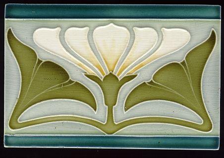 Art1900, Antiquitäten, Berlin, Kurfürstendamm 53, Jugendstilfliese, art 1900, art nouveau tile