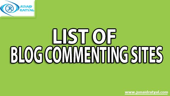 Here is the List of List of #blog #blogging Commenting Sites