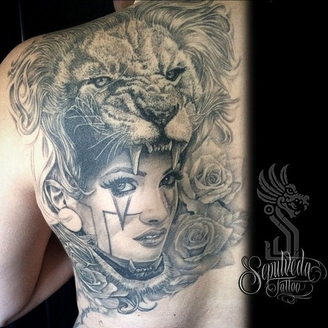 Lion Woman Mujerleon Lionwoman Liontattoo Warrior Guerrera