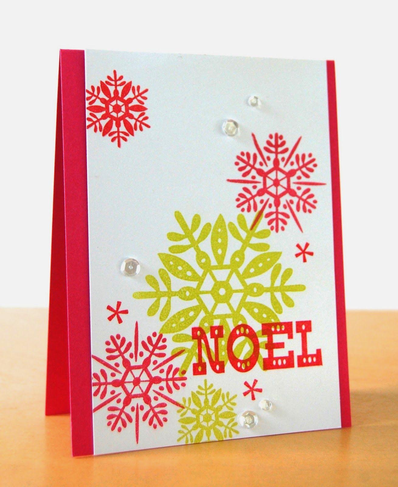 Stamping Lightly Noel Avery Elle Cards Christmaswinter