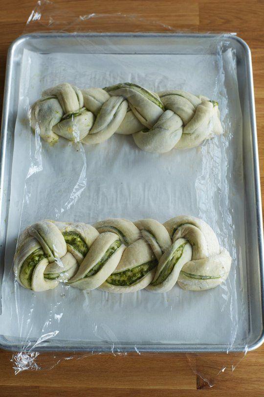 How To Make Braided Pesto Bread