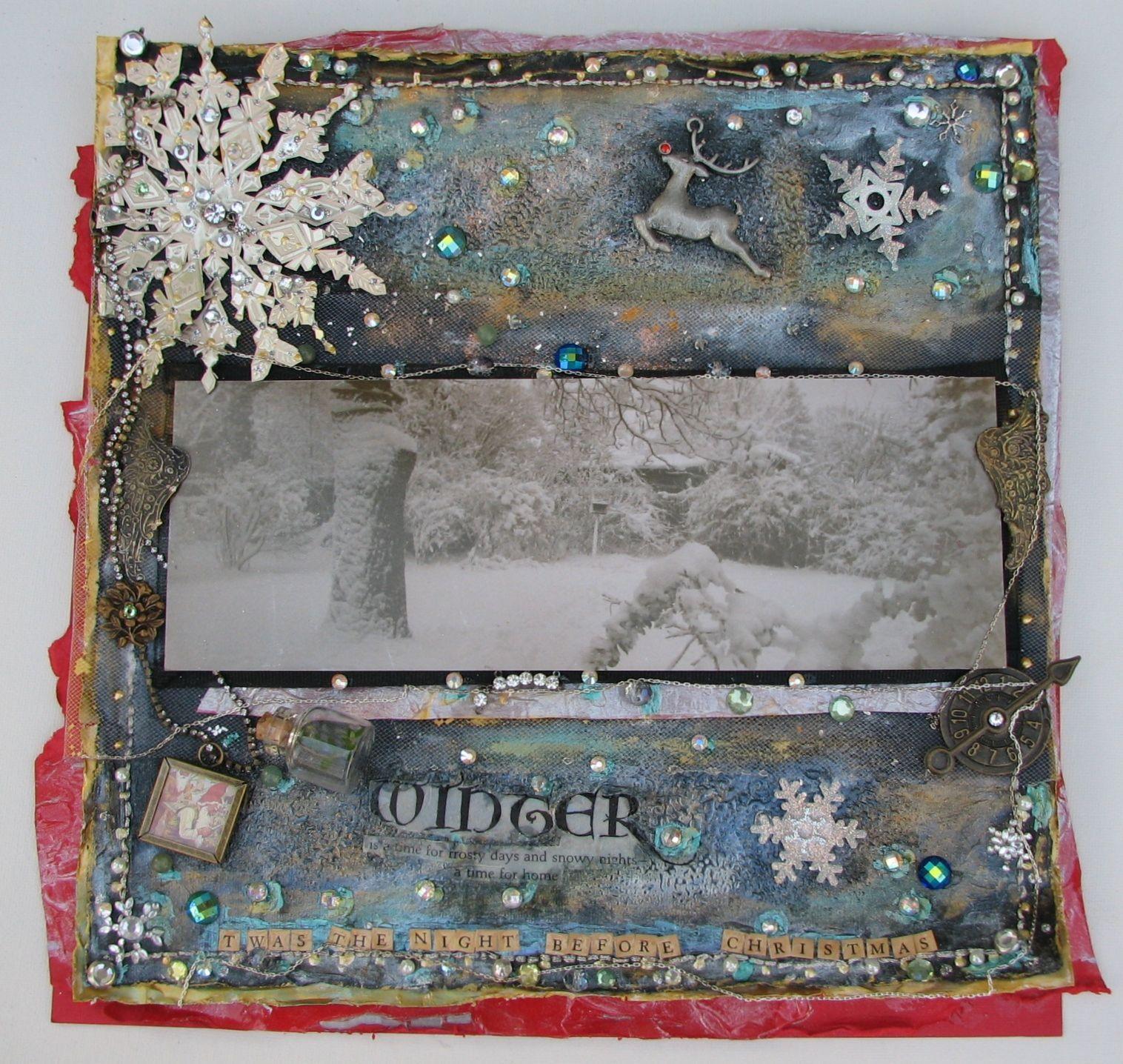 Twas the night before Christmas... - Scrapbook.com