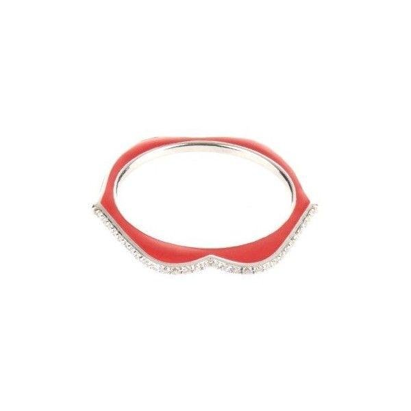 Omg! Omg! Diamond, Enamel & White-gold Ring Raphaele Canot Diamant, Émail Et Bague En Or Blanc Raphaele Canot