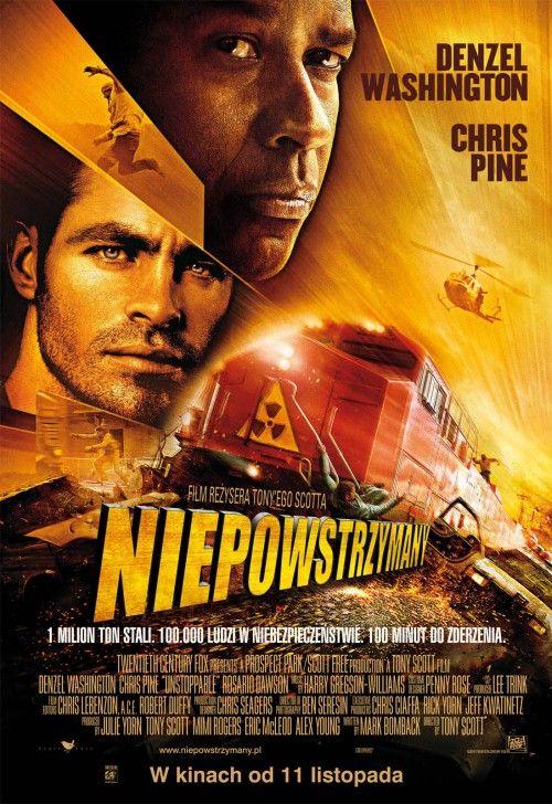 Spektakularny Film Akcji W Rezyserii Mistrza Gatunku Tony Denzel Washington Movie Posters Action Movies