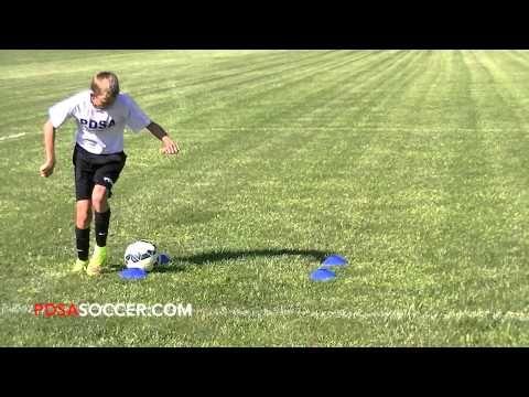 4 Cone Square Regular Pdsa Individual Soccer Skill Development Plan Foot Skill Drill Youtube Soccer Skills Soccer Sports