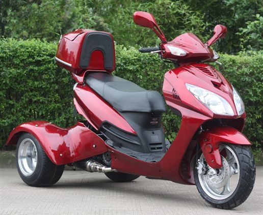 150cc Eagle Scooter Trike 3 Wheel T Street Legal | Let's