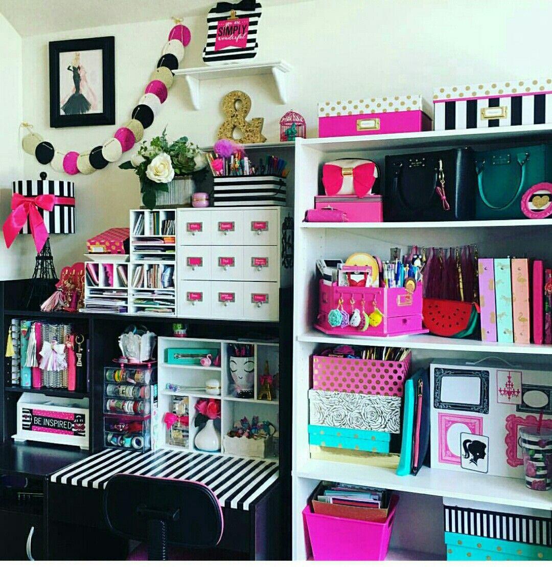Bedroom Art Supplies: Organizing - Craft Supplies