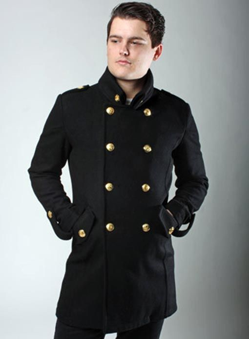 Collection Military Style Coat Pictures - Reikian