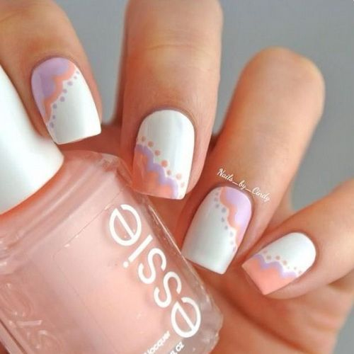 Nail Design 2014 Spring - Spring Nail Design Ideas Picture. Delightful Daisies 17 Gorgeous