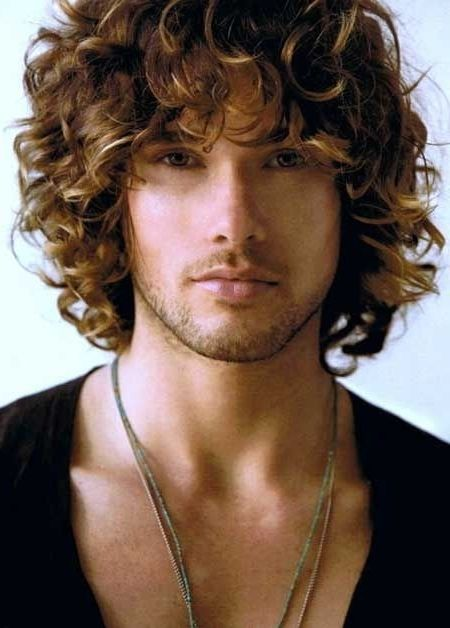 Mens Hairstyles 1000 Ideas About Men Curly On Pinterest Haircuts Curly Hair Men Long Curly Haircuts Mens Hairstyles Thick Hair