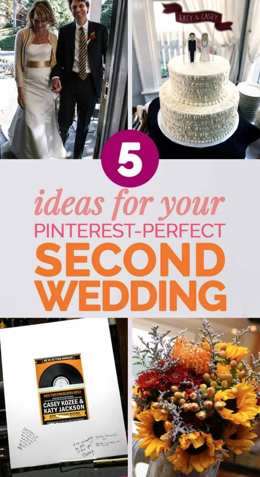 How To Plan The Perfect Second Wedding Over 40 In 2020 Wedding Ideas For Second Marriage Second Weddings Wedding Dress Over 40