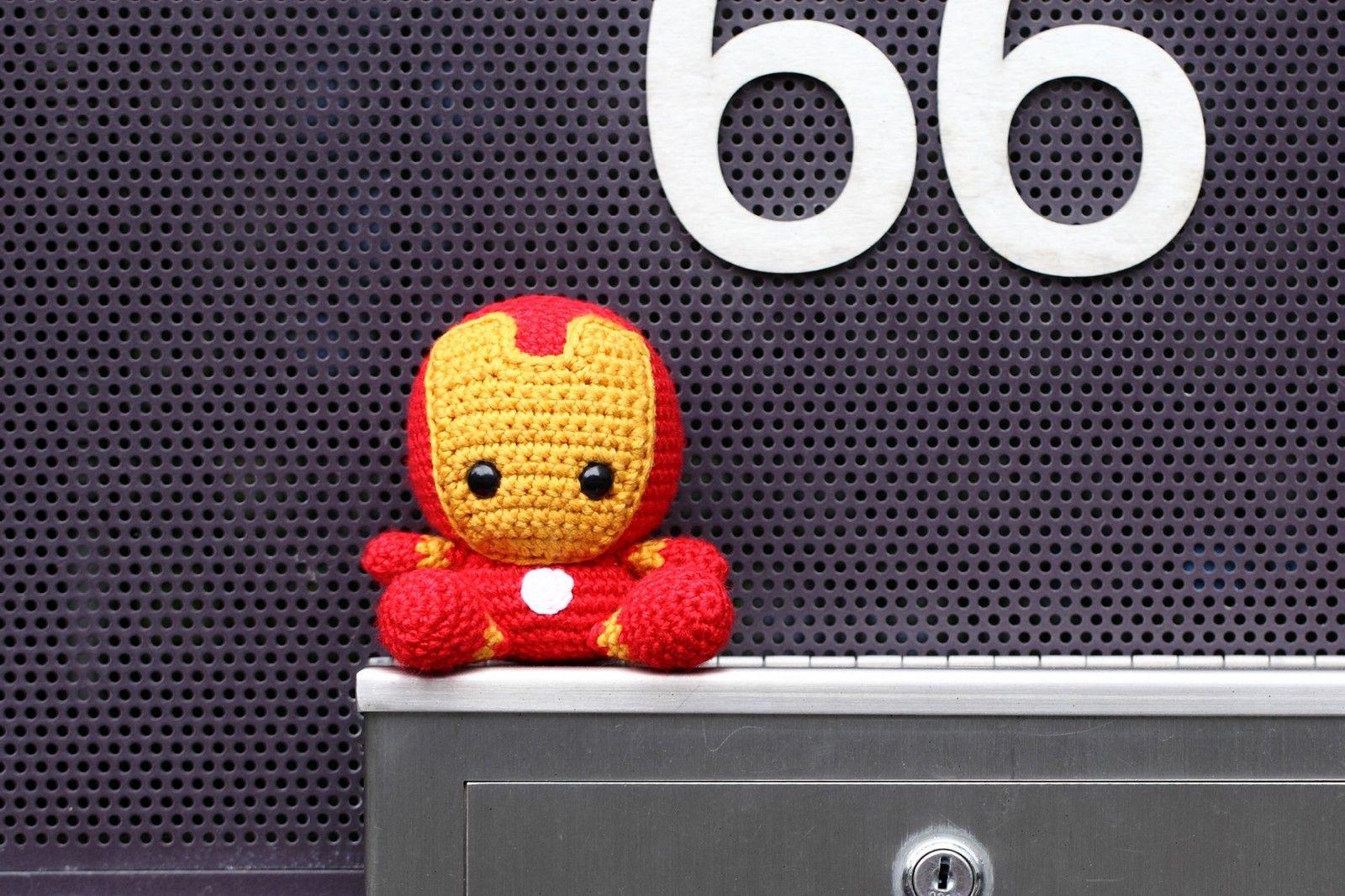 Fat Face Ironman | superhero | Pinterest | Häkelmuster