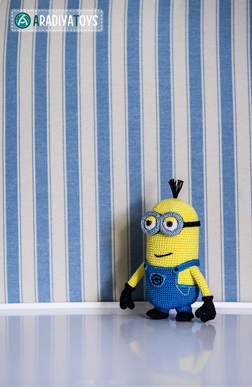 Minion Tim (Despicable Me) amigurumi pattern by AradiyaToys | Häkeln