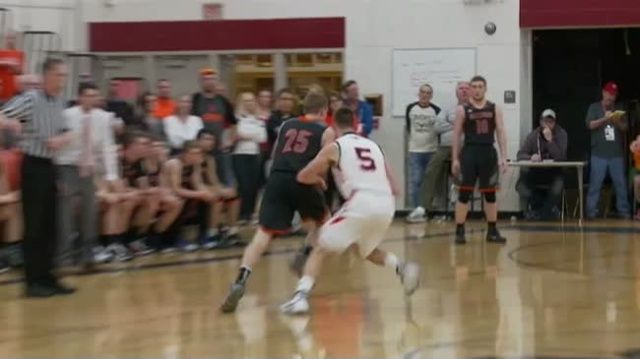 3/10/16 - Boys Basketball - (2) Bangor 63, (1) Hillsboro 60