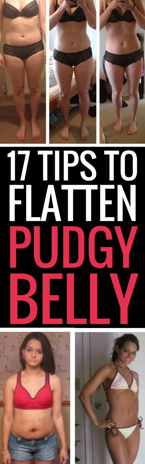 17 tips to eliminate belly fat quickly.