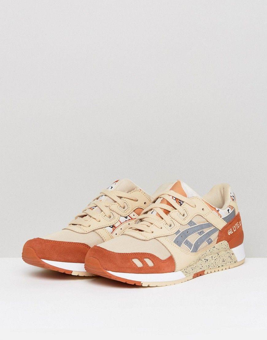 Asics Gel Lyte III Sneakers in Beige H7Y0L 0593 Beige