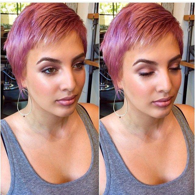 16 Edgy und Pretty Pixie Haarschnitte für Frauen #finehair