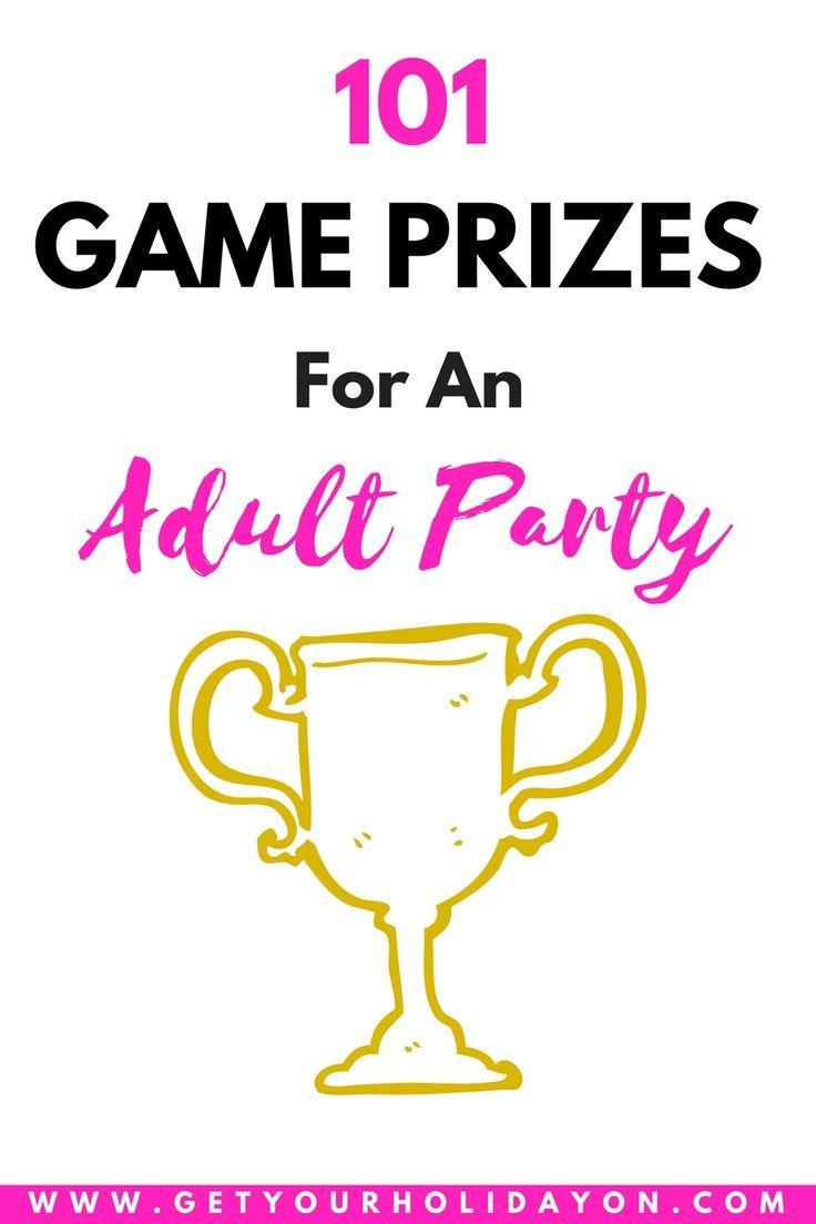 Fun game night prizes for adults