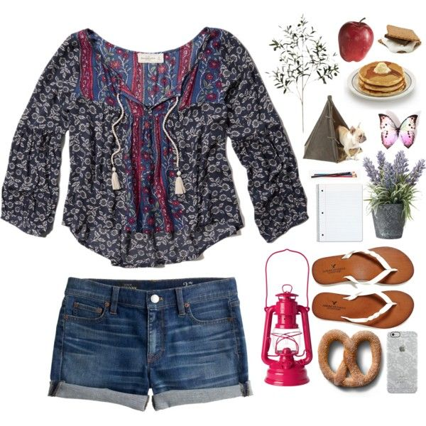 I Don't Like Camping.... But I Like This Set by canttakemyskills on Polyvore featuring Abercrombie & Fitch, J.Crew, American Eagle Outfitters, Uncommon, Toast, OKA and Pier 1 Imports