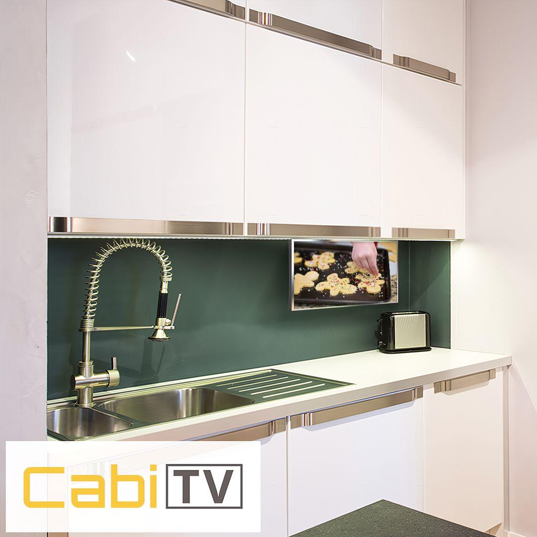Cabitv Kitchen Tv Tv In Kitchen Kitchen Design Small Kitchen Cabinet Design