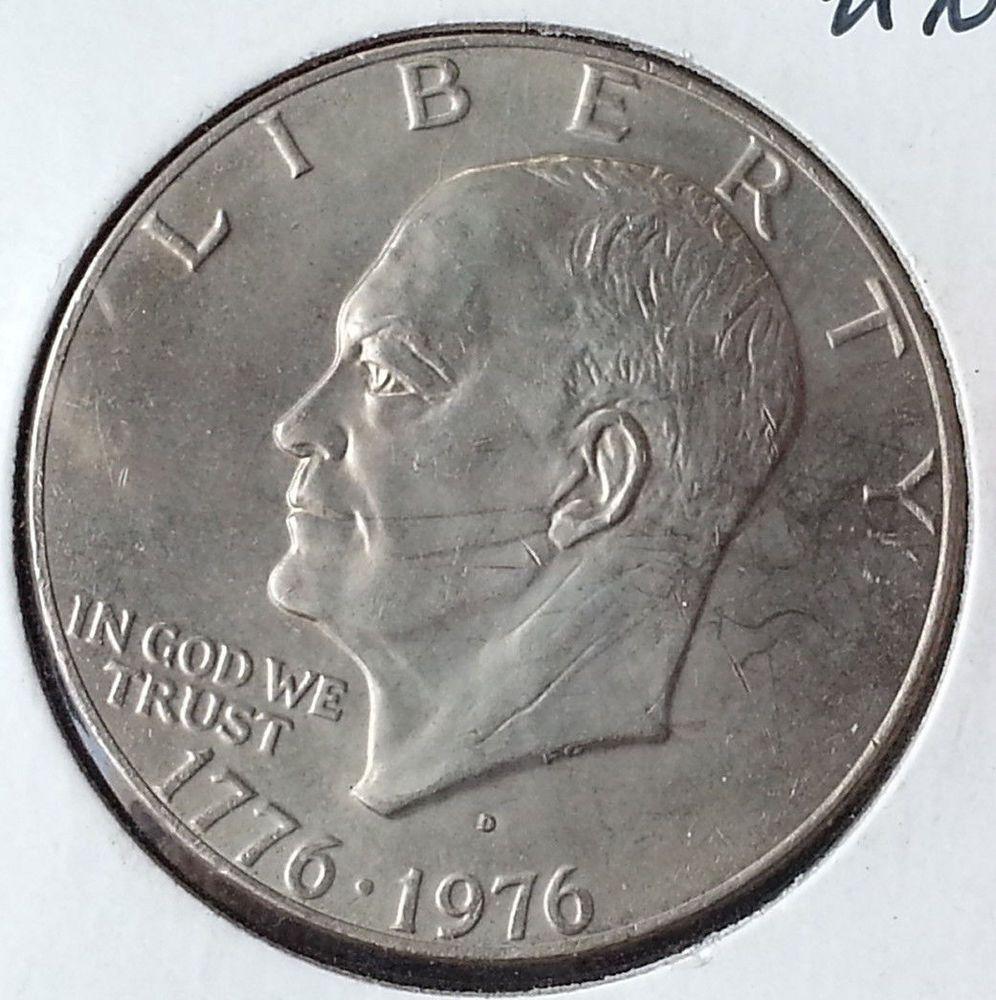 1976 D 1 Type 1 Ike Dollar Dollar Ike Type 1