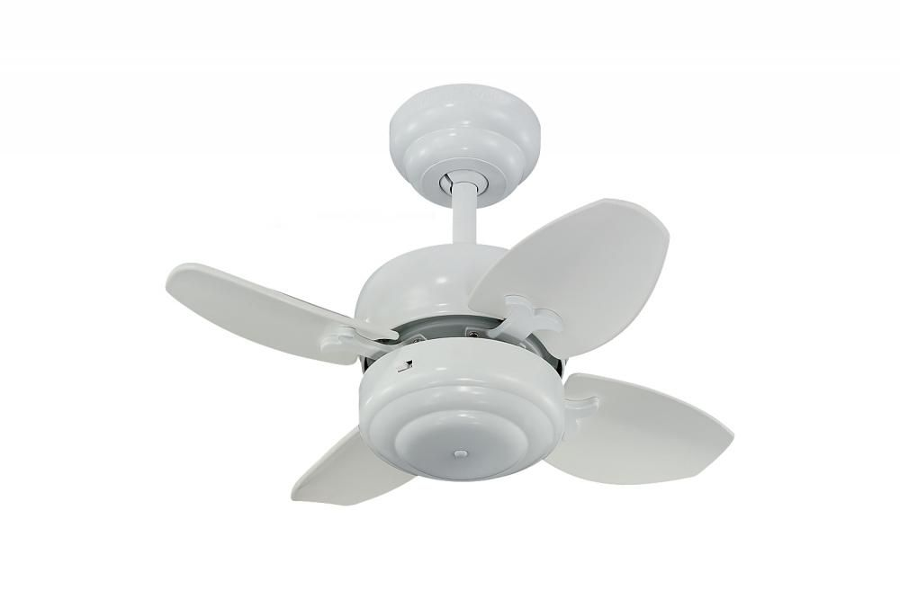 White ceiling fan 6dym annapolis lighting