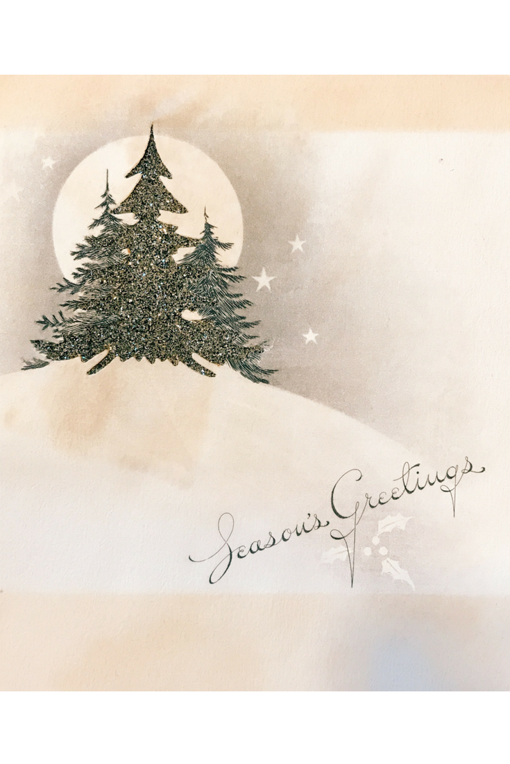 Collecting Vintage Christmas Cards Vintage Christmas Cards Happy Holidays Greetings Vintage Christmas