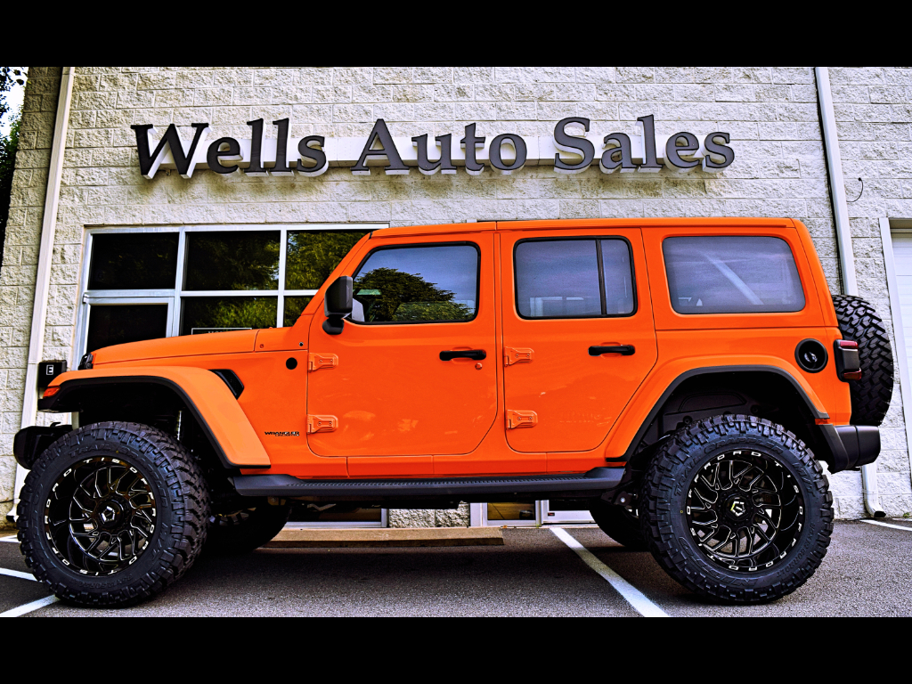 Used 2018 Jeep Wrangler Unlimited Rubicon 4wd New Body Jl For Sale