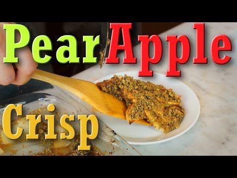Vegan Pear Apple Crisp