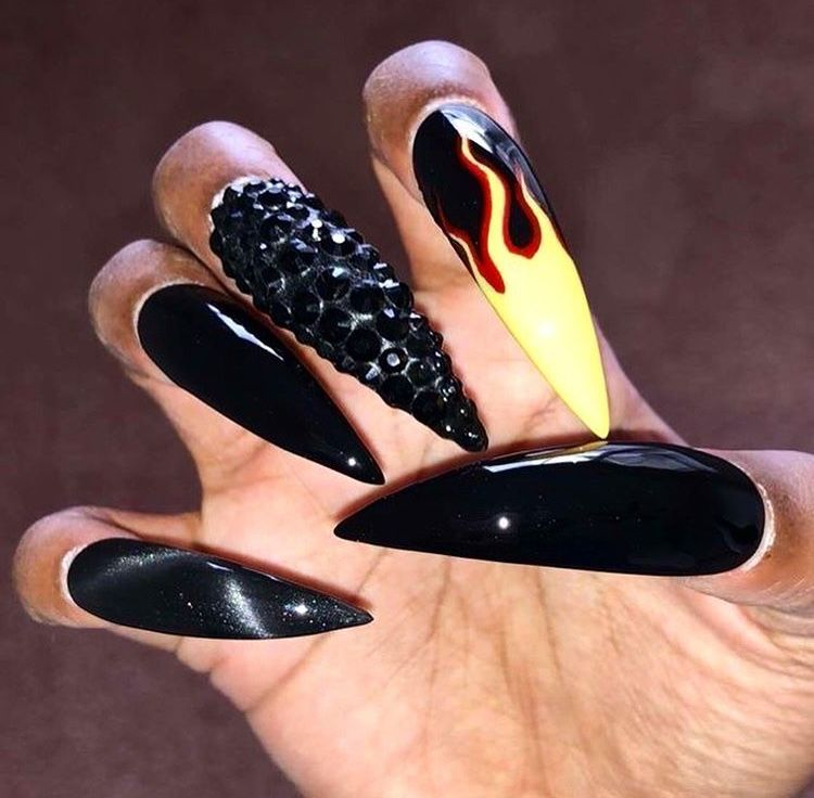 Fire Nails Fire Nails Clothes Design Outfit Accessories
