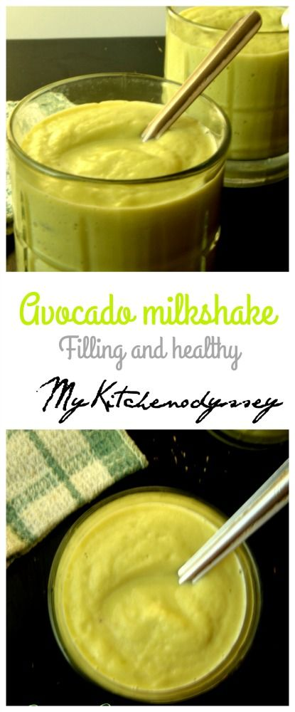A filling and healthy milkshake that can be made in a jiffy.