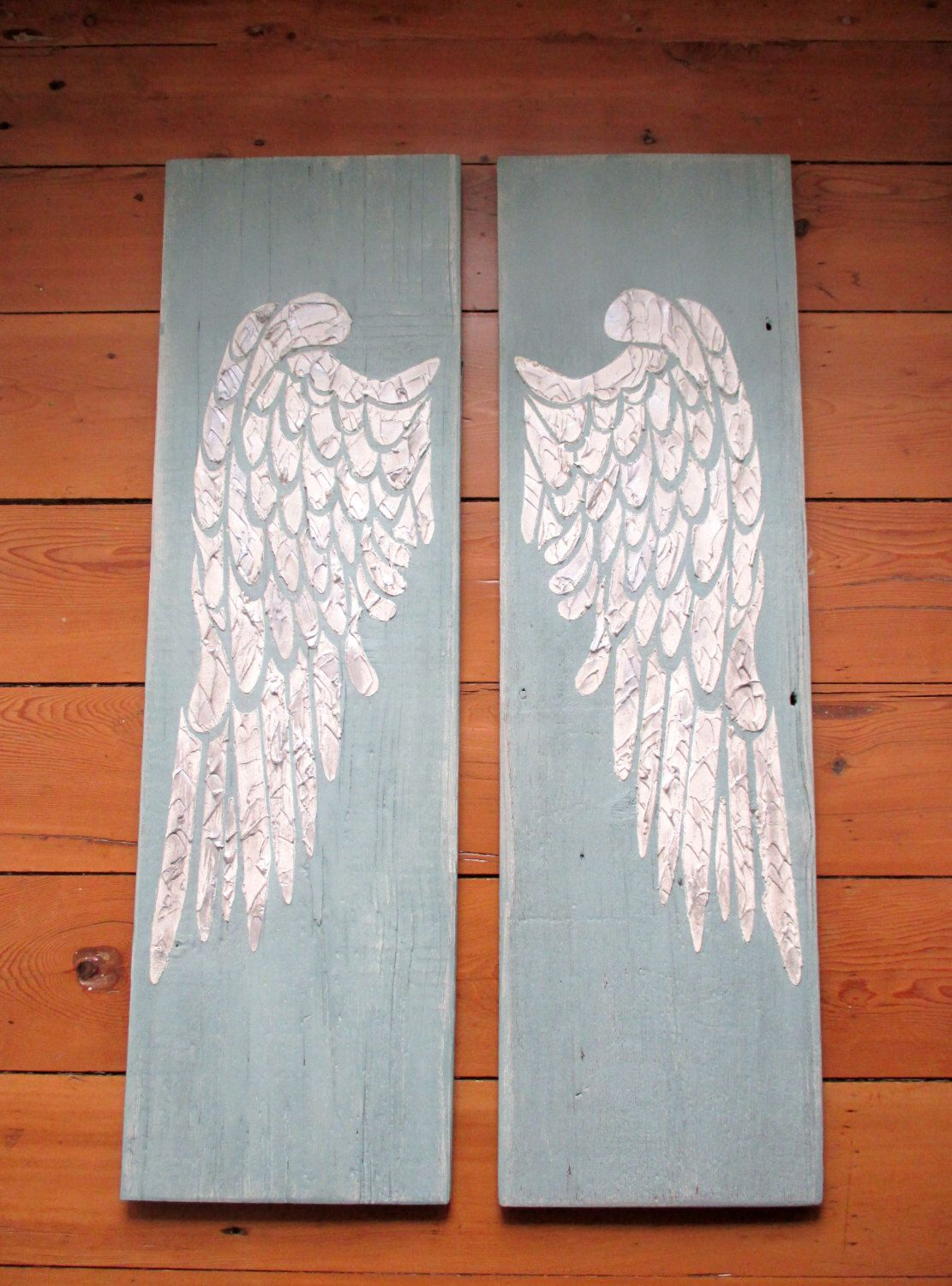 Wooden Angel Wings Wall Decor angel wings, large angel wings, carved angel wing wall art, angel