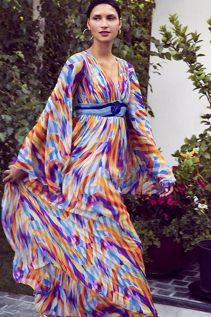 Lanah Print Maxi Dress | Products | Pinterest