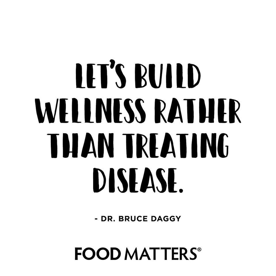 Who is up for building up their wellness?! www.foodmatters