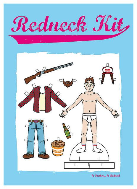 REDNECK KIT | paperdolls | Pinterest | Dolls