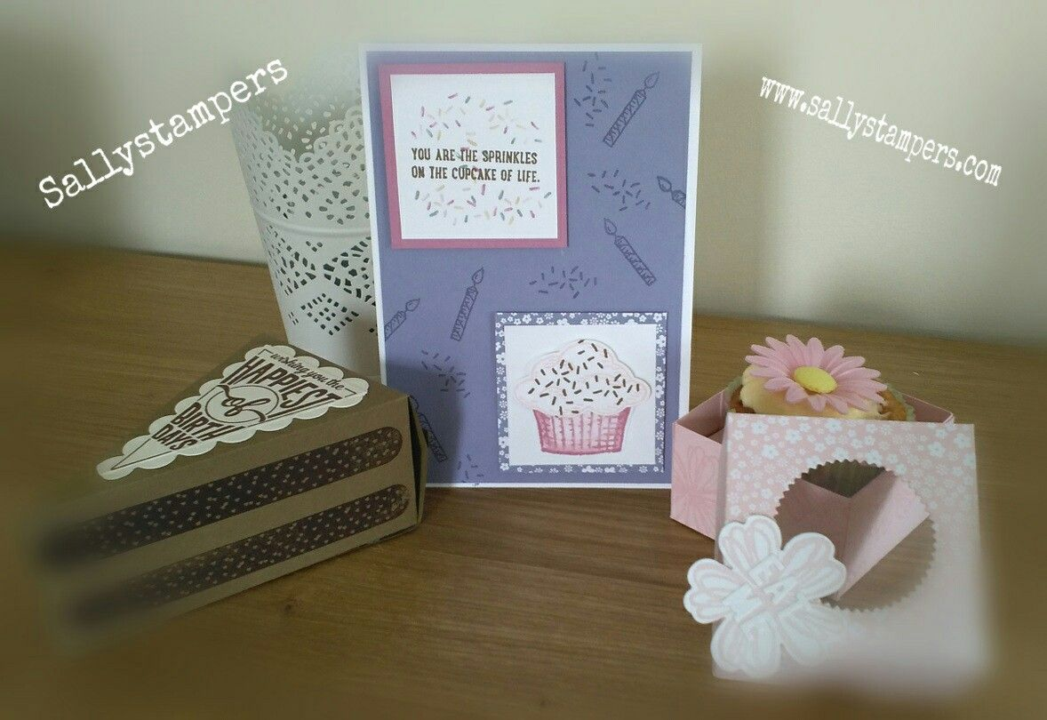 Tuesday Trio Cake, Cake and more cake. Independent Stampin' Up!® Demonstrator UK