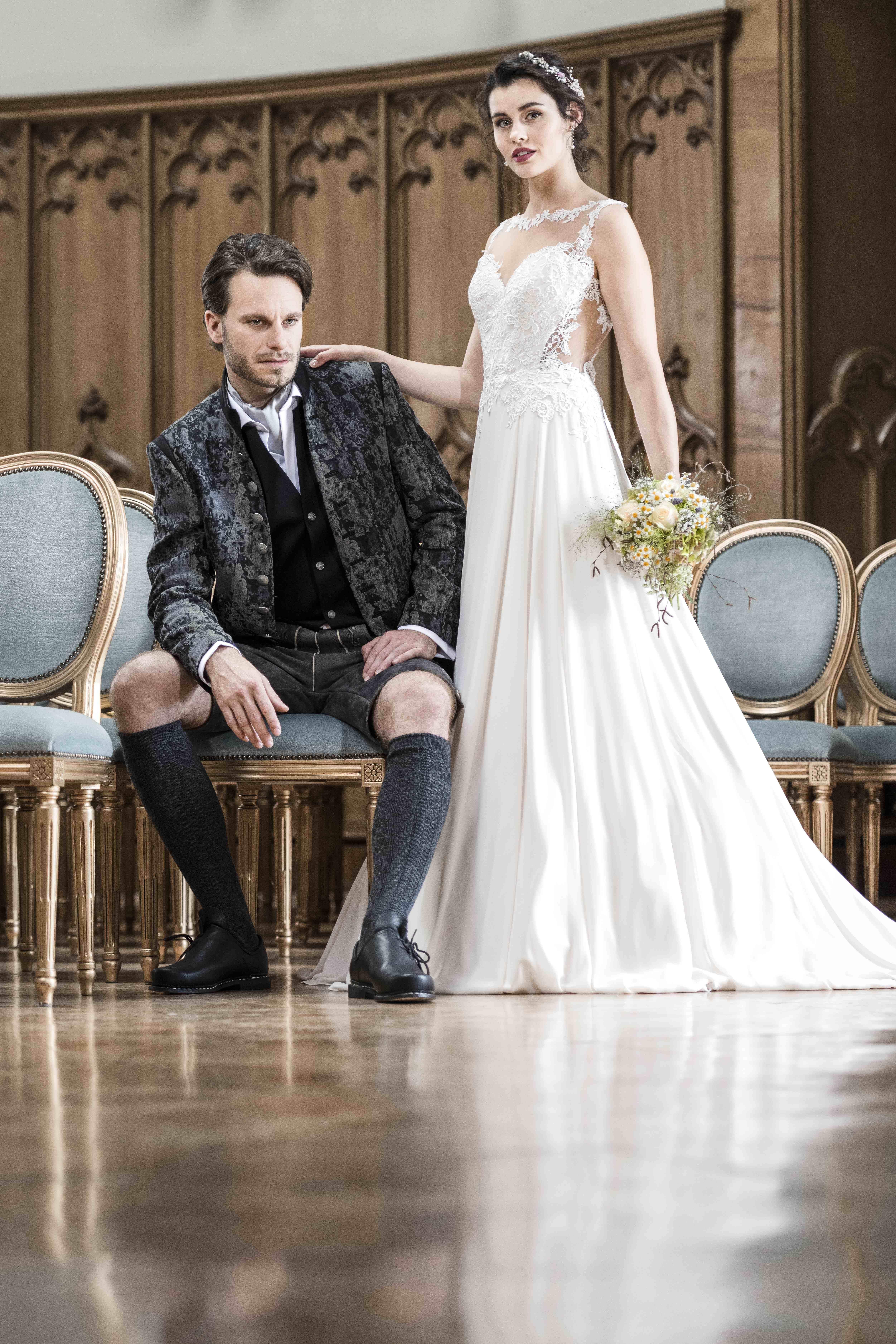 Brautpaar by Neuböck Mode/Hochzeit/Tracht Modell: Bianca ...