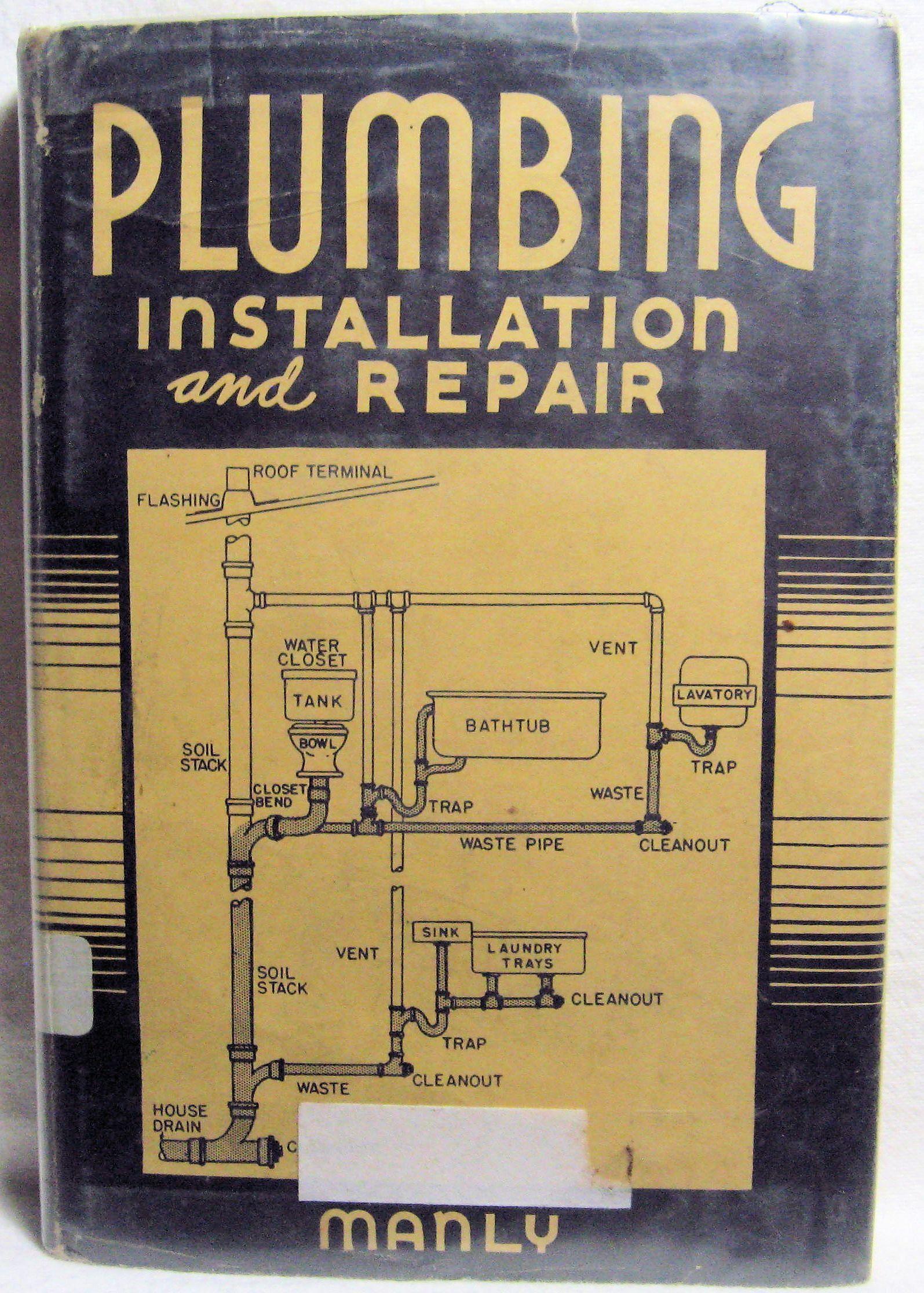 Plumbing Installation And Repair 1945 Rose City Books Plumbing Installation Plumbing Repair