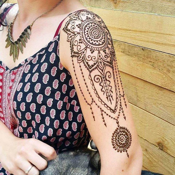 Henna Tattoo Designs Forearm: Mehndi. Image By Rina MIstry