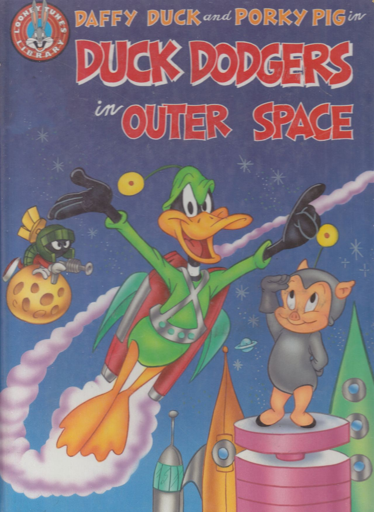 Title Daffy Duck And Porky Pig In Duck Dodgers In Outer Spaceseries