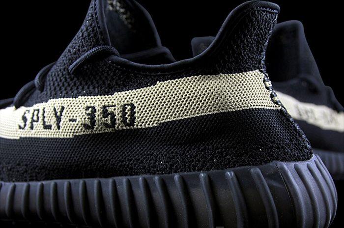 Adidas Yeezy 350 Boost V2 Black Gold Sepatu Kets Adidas Hitam